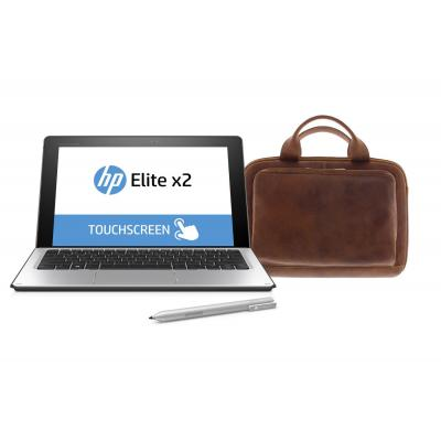 Hp laptop: Elite x2 1012 G1 Core M5 256GB - 4G + Travel Keyboard & Active pen + Premium bag   - Zilver