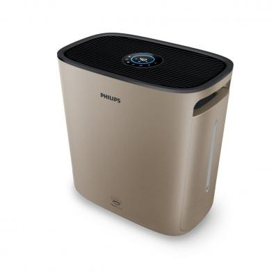Philips luchtbevochtiger: 2000 series 175 m³/h, 600 ml/h, 1.8 m, 50 Hz, 6 - 16 W, 32 - 58 dB, 4 L, 460 x 446 x 275 mm, .....