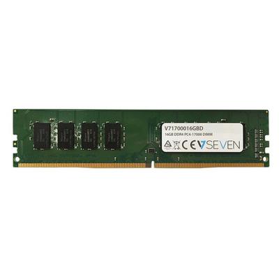 V7 16GB (1x16GB) DDR4 PC4-17000 - 2133MHZ, CL15 RAM-geheugen - Groen