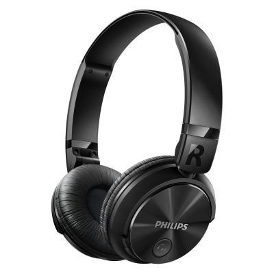 Philips headset: Draadloze, krachtige bas - Zwart
