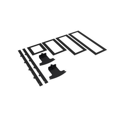 SmartMetals Panel integrator bracket, black Montagekit - Zwart
