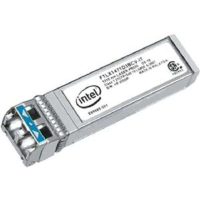 Intel Ethernet SFP+ LR Optics - Dual Rate 10GBASE-LR/1000BASE-LX Netwerk tranceiver module - Zwart