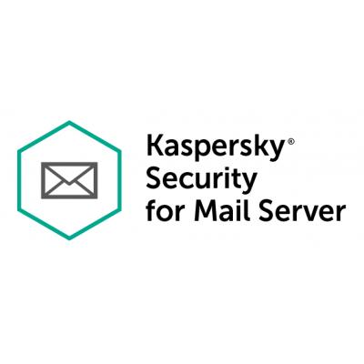 Kaspersky Lab Security for Mail Server - 1 Jaar met 10-14 gebruikers software