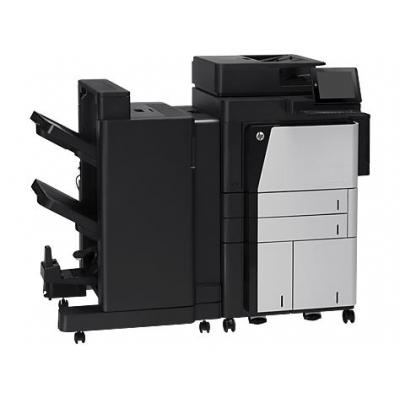 Hp multifunctional: LaserJet Enterprise flow MFP M830z - Zwart (Demo model)