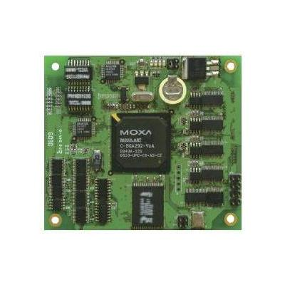 Moxa RISC-based Ready-to-Run Embedded Core Module, RS-232/422/485, Fast Ethernet, SD, μClinux