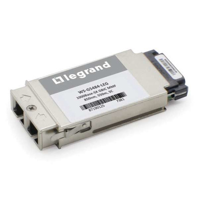 Legrand Cisco® WS-G5484 compatibele 1000BASE-SX MMF SC GBIC ontvangstmodule Netwerk tranceiver module