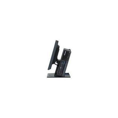 Lenovo monitorarm: Vertical Monitor/PC Stand - Zwart
