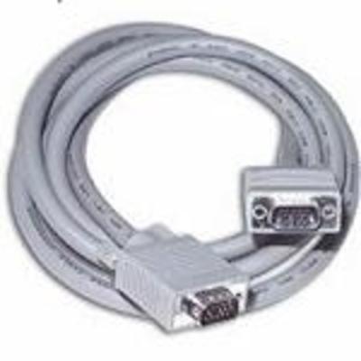 C2g VGA kabel : 0.5m Monitor HD15 M/M cable - Grijs