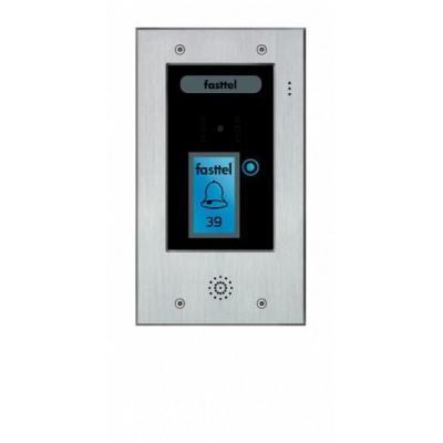 Fasttel deurbel: Wizard Elite FT2501V - Zwart, Grijs