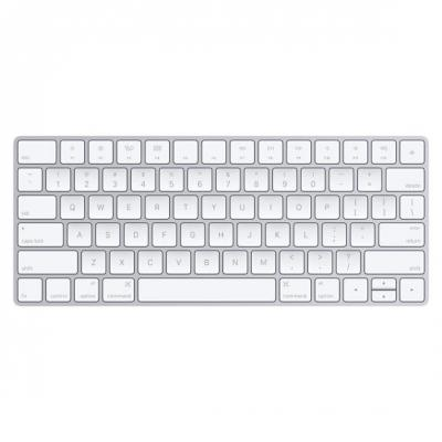 Apple toetsenbord: Magic Keyboard - US English - Zilver, Wit, QWERTY