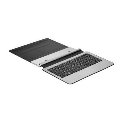 Hp mobile device keyboard: Travel Keyboard for Elite x2 1011 G1 - Zwart, Zilver, AZERTY