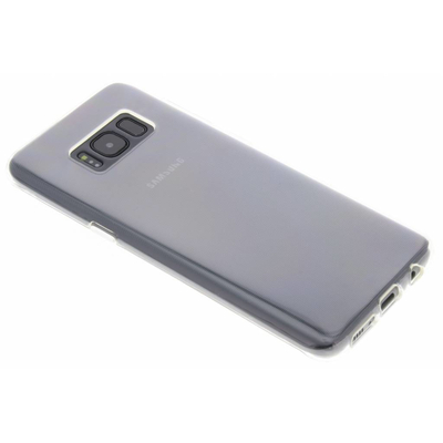 Selencia Transparent gel case for the Samsung Galaxy S8 Mobile phone case - Doorschijnend