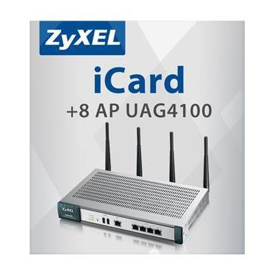 Zyxel E-ICARD 8 AP UAG4100 Software licentie
