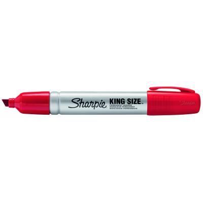 Sharpie marker: S0949840 - Rood, Zilver