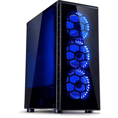 Inter-Tech CXC2 Behuizing - Zwart
