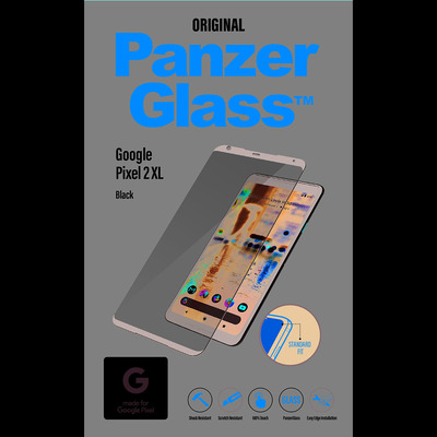PanzerGlass Google Pixel 2 XL Edge-to-Edge Screen protector - Transparant