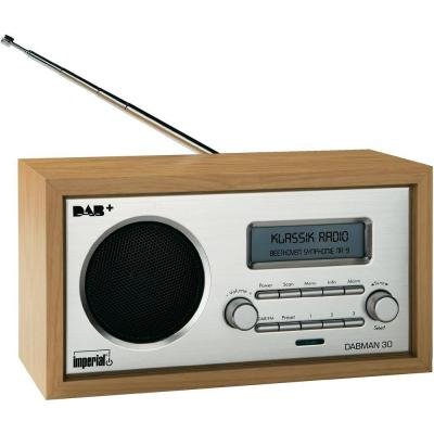 Digitalbox radio: DABMAN 30 - Hout