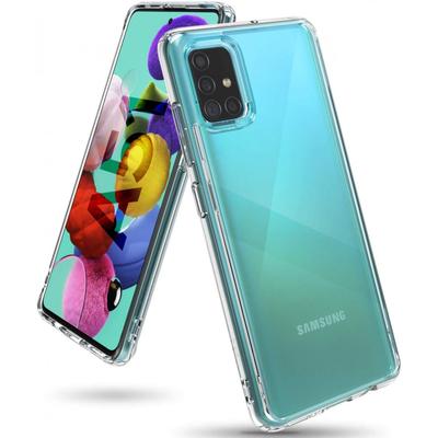 Ringke Fusion Backcover Samsung Galaxy A51 - Transparant - Transparant / Transparent Mobile phone case