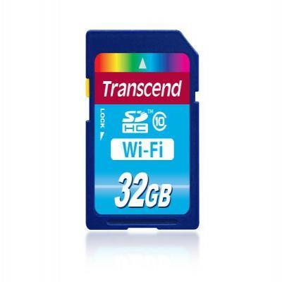 Transcend flashgeheugen: CMP-SDHC10-32W - Blauw
