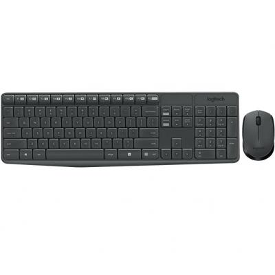 Logitech toetsenbord: MK235 - Zwart