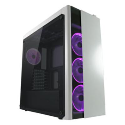 LC-Power Gaming 993W Behuizing - Zwart, Wit