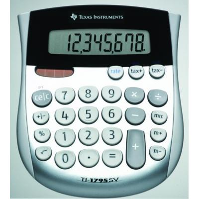 Texas instruments calculator: TI-1795 SV - Zwart, Zilver, Wit