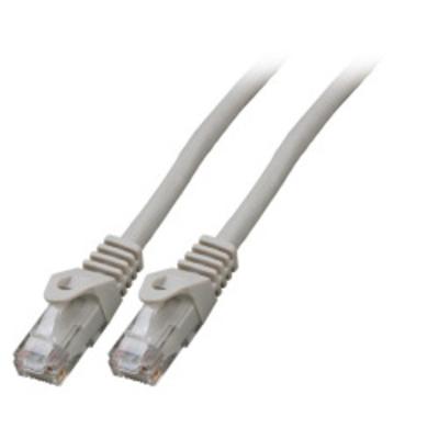 EFB Elektronik RJ45 Patch cable Cat.5e U/UTP LSZH, CCA, AWG24/7, grey 7,5m Netwerkkabel - Grijs