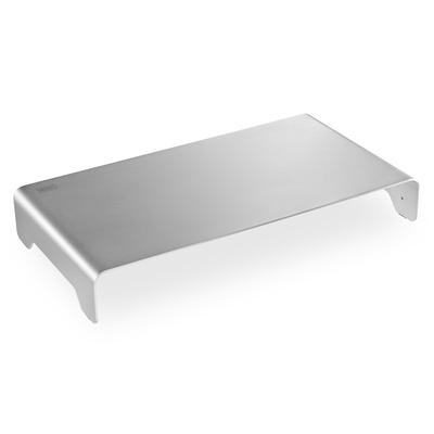 Digitus Slim Aluminium Monitor Riser silver Monitorarm - Zilver