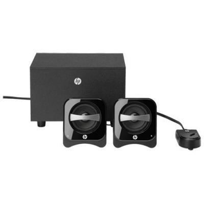 Hp luidspreker set: 2.1 Compact Speaker System - Zwart