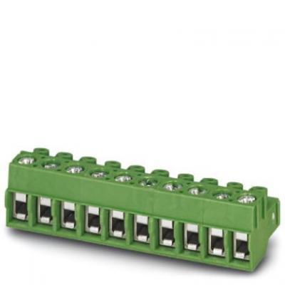 Phoenix elektrische aansluitklem: PT 1,5/ 4-PVH-5,0 - Groen