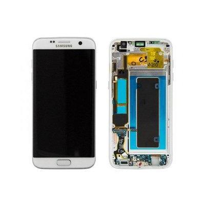 Samsung mobile phone spare part: G935F Galaxy S7 Edge LCD Display Module - Wit