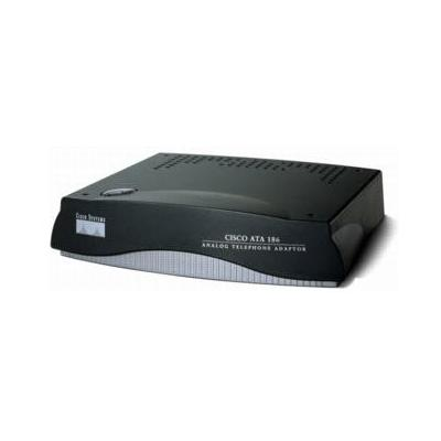 Cisco VoIP adapter: ATA186-I2-A, 270 ohm in series with 750 ohm and 150 NF in parallel (Refurbished LG)
