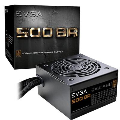 EVGA 500 BR Power supply unit - Zwart
