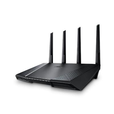 Asus wireless router: RT-AC87U - Zwart