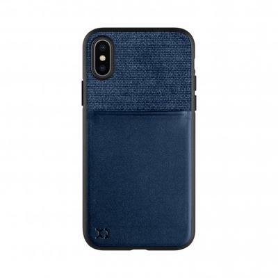 Xqisit Card Case Mobile phone case - Blauw