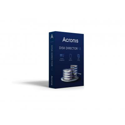 Acronis Disk Director 12.0 Systeembeheer tools