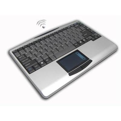 Adesso toetsenbord: SlimTouch Wireless 2.4 GHz RF Mini Touchpad Keyboard - QWERTY