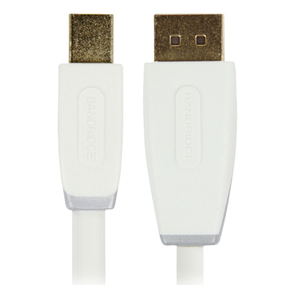 Bandridge : 1m Mini DisplayPort - DisplayPort m/m - Wit