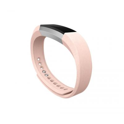 Fitbit : Alta Leather Band, Blush Pink Leather, Large - Roze