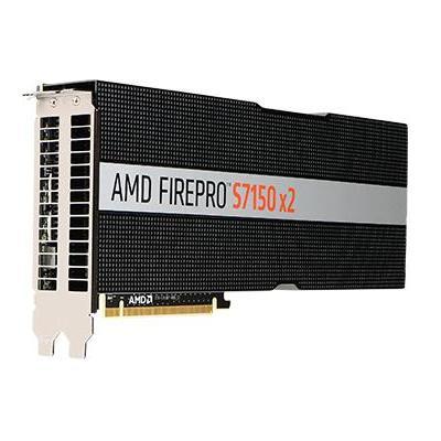 AMD FirePro S7150 x2 Videokaart - Zwart, Zilver