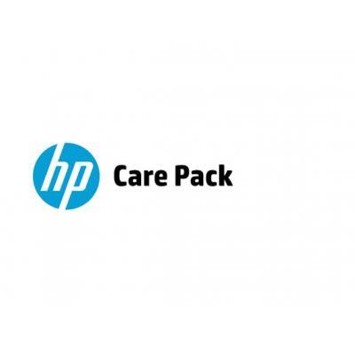 HP 4 jaar retour aan hardwaresupport, alleen voor Thin Client Garantie