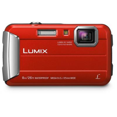 Panasonic digitale camera: Lumix DMC-FT30 - Rood
