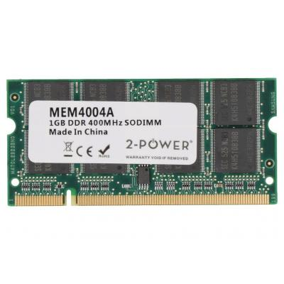 2-power RAM-geheugen: 1GB PC3200 400MHz SODIMM Memory - replaces 370-11495