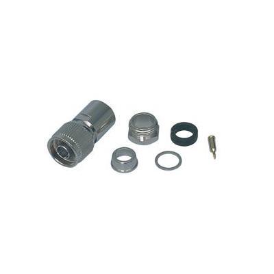 Valueline kabel connector: N-plug (clamp type), f/ RG213 - Zilver