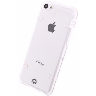 Mobilize Hybrid Case Transparent Apple iPhone 5C White Mobile phone case - Transparant, Wit