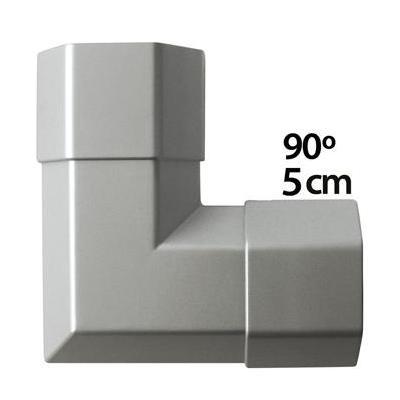 König kabel beschermer: 90°, 5cm - Grijs