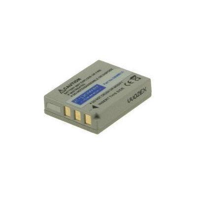 2-power batterij: Digital Camera Battery, Li-Ion, Grey - Grijs