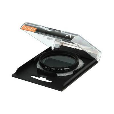 CamLink Circular polarising filter, 46mm Camera filter - Zwart