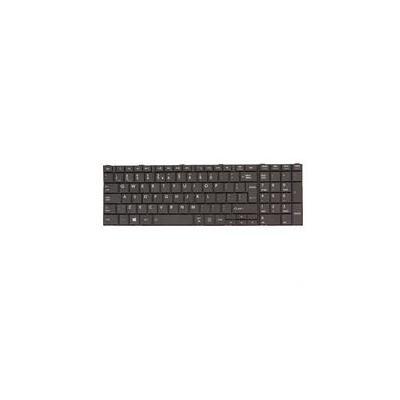 Toshiba notebook reserve-onderdeel: Keyboard (English) - Zwart
