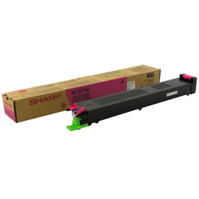 Sharp Magenta Cartridge, 10000 Pages @ 5% Coverage Toner